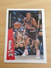 STICKER CARD UPPER DECK NBA BASKETBALL 96/97 # 112 SCOTTIE PIPPEN BASKET
