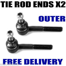 Fits Ford Maverick 2.4i 2.7 D TD 93-99 Left & Right Outer Track / Tie Rod End x2