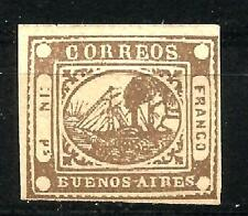 ARGENTINA 1858 - BUENOS AIRES - N. 3 - 1858