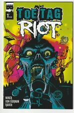 TOE TAG RIOT #1 | New NM | Phantom Variant | Black Mask | mylar bagged