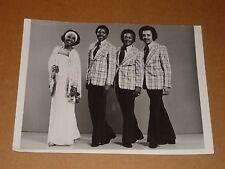 Gladys Knight & Pips 10 x 7 1977 Agency Publicity Photo