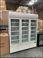 EUROTAG Commercial 1150L Upright Display Fridge - White