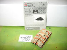 Axis & Allies Eastern Front Panzer IV Ausf. G with card 43/60