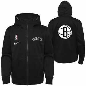 Nike NBA Youth (8-20) Brooklyn Nets Lightweight Hooded Full Zip Jacket