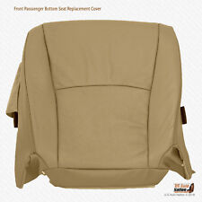 2005 2006 Toyota Highlander DRIVER Bottom Seat Cover PERFORATED LEATHER TAN