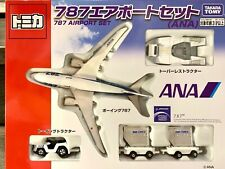 Brand New Sealed Tomica 787 Airport Set (ANA)