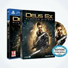 DEUS EX : Mankind Divided - Steelbook sur PS4 / Neuf / Sous Blister / Version FR