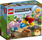 21164 LEGO Minecraft The Coral Reef 92 Pieces Age 5 Years+