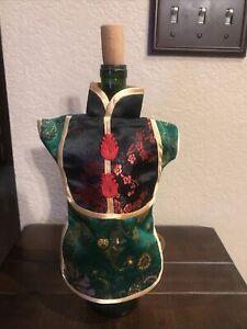 New Kimono Dress Wine Bottle Cover