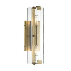 Savoy House Winfield 2 Light Wall Sconce, Gold - 9-9771-2-322