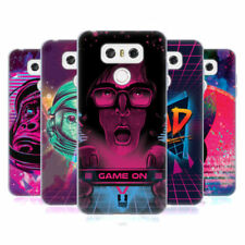 Cover e custodie Head Case Designs Per LG G6 in silicone/gel/gomma per cellulari e palmari