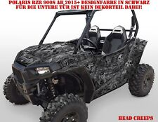 Invision DECORO GRAPHIC KIT UTV POLARIS General/RZR 900s/1000xp Head Creeps B