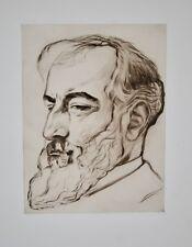 Rafaël SCHWARTZ - Estampe originale - Eau-forte - Henri Martin