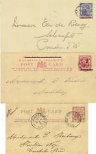Mauritius 1900-1909 5x postal stationary covers & cards very fine