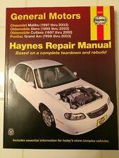 Haynes Repair Manual 38026: Chevy Oldsmobile Pontiac 1997-2003