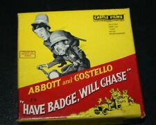 Vtg Abbott and Costello 8MM Film Police Have Badge Will Chase  -RM=