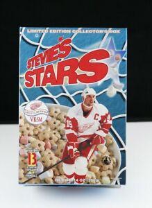 Steve Yzerman Stevie's Stars Cereal Box - Detroit Red Wings