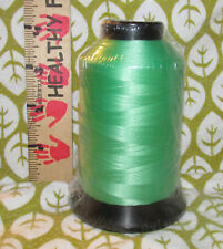 Coats 4oz Spool T30 lubricated polyester Sewing Thread EMBROIDERY Kelly green