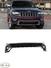 FOR JEEP GRAND CHEROKEE WK2 2013 - 2019 NEW FRONT BUMPER UPPER PART WITHOUT PDC