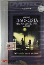 DVD  L'ESORCISTA VERSIONE INTEGRALE FILM HORROR WILLIAM FRIEDKIN  editoriale