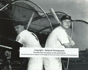 Mickey Mantle Roger Maris 1961 New York Yankees World Series Champs 8x10 Photo