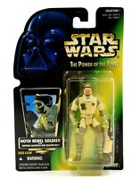 Star Wars The Power of The Force - Hoth Rebel Soldier Action Figure