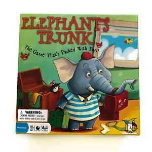 Elephant Trunk Board Game for Kids Childrens by Gamewright Rare Discontinued