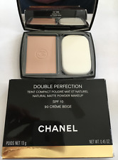 CHANEL 90 CREME BEIGE DOUBLE PERFECTION NATURAL MATTE POWDER CONTOUR BRAND NEW