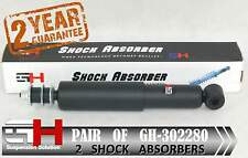 2 NEW FRONT SHOCK ABSORBERS FOR NISSAN NAVARA 2WD 09.1985-04.2005  /GH 302280/