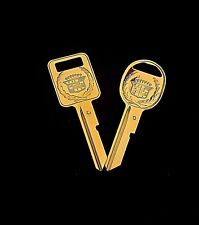 Rare Cadillac Gold Key Set - 'C' and 'D' for Fleetwood, Brougham, Eldo, & Sev