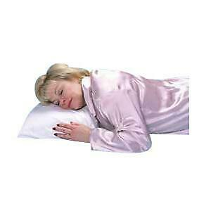 """Hermell Products Buckwheat Sleeping Pillow 16"""" x 20"""" White"""
