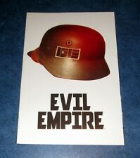 EVIL EMPIRE #1 1:25 variant BOOM COMIC 2014 MAX BEMIS RANSOM GETTY nazi helmet