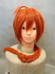 Gintama Cosplay Wig Hair Kamui Yato Clan Orange Anime