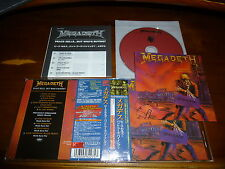 Megadeth / Peace Sells... But Who's Buying? JAPAN+4 w/Sticker Remaster OOP!!! B9