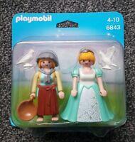 Playmobil 6843 Princess And Handmaid set new and sealed