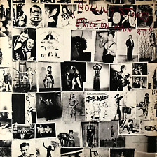 THE ROLLING STONES - EXILE ON MAIN ST. (LP) (G/G+)
