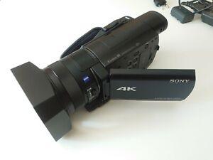 Sony AX100E (fdr-ax100) 4K Professional Camera