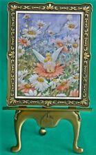 DISNEY PARK TINKERBELL SUMMER DAZE FRAMED ART & STAND LIMIT ED 272/500 COA NEW