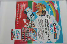 Ferrero Werbematerial - Werbeblatt DIN A 4 80 er Jahre Kinder Freude