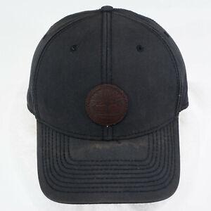 Timberland Hat Cap OSFM black snapback L - XXL 7 3/8 - 8 high crown patch cotton