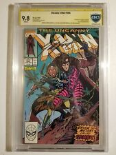 Uncanny X-Men #266 CBCS SS 9.8 Signed by Andy Kubert and Chris Claremont