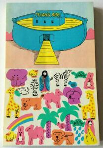 Sandylion Vintage 80's KROMEKOTE Noah's Ark Stickers 1 Sheet Retired 1989
