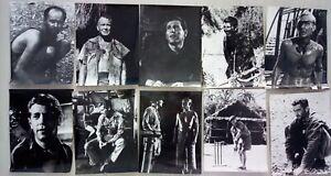X364 70x Pressefotos SIE NANNTEN IHN KING - 1965 George Segal, James Fox