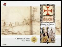 Portugal 2019 MNH Founding of Order of Christ 1v M/S Military Religion Stamps