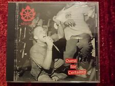 SHELTER - QUEST FOR CERTAINTY. CD