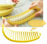 Banana Bananenscheibe Bananenschneider Bananenteiler-Neu C8Z2