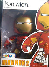 "MARVEL MIGHTY MUGGS__Iron Man 2__IRON MAN Mark VI 6 "" Vinyl figure_Exclusive_MIB"