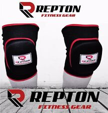 Repton Elasticated Gel Padded Knee Cap Guard Pads Brace Support Heavy Duty MMA