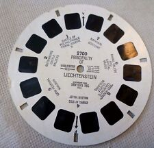 Vintage Viewmaster - Sawyer's Single Reel 2700 Principality Liechtenstein #2