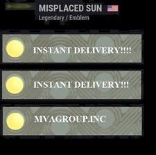 Destiny 2 - Misplaced Sun Emblem - INSTANTDELIVERY 24/7!!!